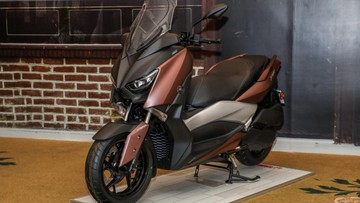 Cận cảnh xe ga phân khối lớn Yamaha X-Max 250 2018 cho Đông Nam Á