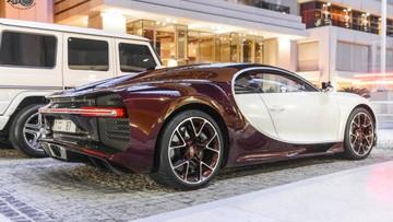 Thêm 1 siêu xe Bugatti Chiron của các đại gia Dubai phối màu cực độc