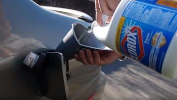 Chào thua xe Infiniti bị đổ thuốc tẩy vào bình xăng nhưng vẫn ... chạy tốt