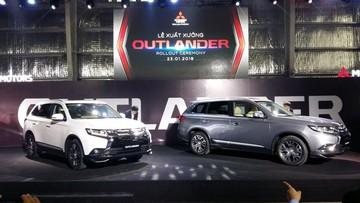 Mitsubishi Outlander lắp ráp tại Việt Nam đã xuất xưởng, giá bán giảm gần 200 triệu Đồng