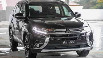 Cùng trang bị, Mitsubishi Outlander 2.4 CKD của Malaysia rẻ hơn xe ở Việt Nam