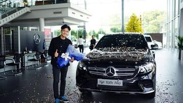 """""""Chàng bắp"""" Ngô Kiến Huy tậu Mercedes-Benz GLC300 4Matic trị giá 2,149 tỷ Đồng"""