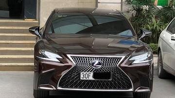 Sedan hạng sang Lexus LS500h 2018 giá hơn 7 tỷ Đồng ra biển trắng tại Việt Nam