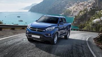 Xe bán tải SsangYong Musso lộ diện, cạnh tranh với Ford Ranger
