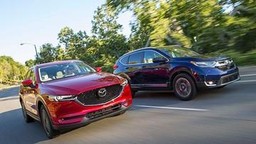 Trong tầm dưới 1,1 tỷ chọn Honda CR-V 2018 hay Mazda CX-5 2018?
