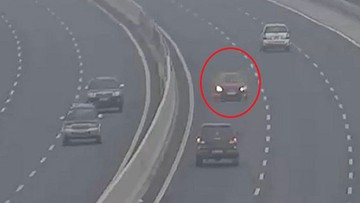 Nữ tài xế lái ô tô chạy ngược chiều trên cao tốc Hà Nội - Hải Phòng bị phạt nặng
