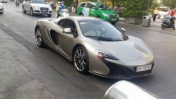 """McLaren 650S Spider MSO """"độc bản"""" bất ngờ tái xuất trên đường phố Sài thành"""