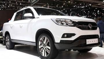Ssangyong công bố xe bán tải Musso, cạnh tranh với Ford Ranger