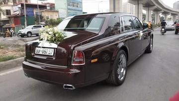 Rolls-Royce Phantom Series II hơn 50 tỷ Đồng làm xe rước dâu tại Hà Nội