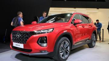 Hyundai Santa Fe phiên bản 8 chỗ sẽ có tên là Palisade?