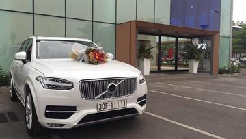 Giật mình với Volvo XC90 biển ngũ quý 1 tại Hà Nội