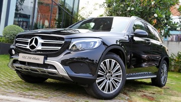 Mercedes-Benz GLC 250 4Matic bản nâng cấp có thêm nhiều trang bị mới, giá bán ra 1,939 tỷ Đồng