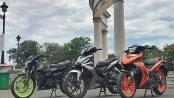 Nên chọn xe côn tay nào giữa Yamaha Exciter 150, Honda Winner 150 hay Suzuki Raider 150?