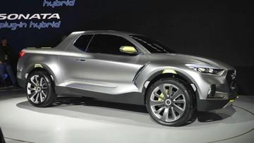 Xe bán tải Hyundai Santa Cruz có thể ra mắt năm 2020 và không sử dụng máy dầu