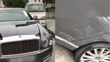 """Mới lấy bằng lái, """"tài non"""" đã gây hoạ khi đâm xe van vào chiếc Bentley Mulsanne đời mới"""