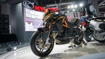 Kawasaki hợp tác với Kymco phát triển naked bike Kymco K-Rider 400