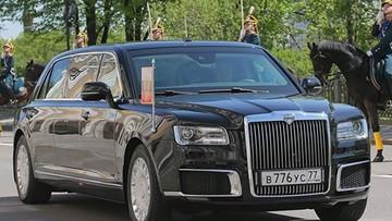 Tổng thống Nga Vladimir Putin dùng xe limousine bọc thép chống đạn mới trong lễ nhậm chức