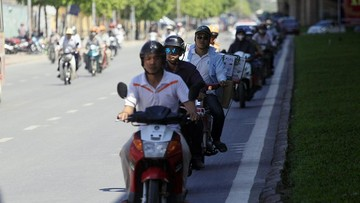 6 phương pháp hạ nhiệt cho xe máy ngày nắng nóng