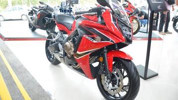 Đánh giá nhanh sport bike tầm trung Honda CBR650F 2018 mới phân phối chính hãng
