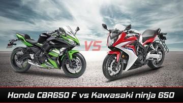 Lựa chọn Honda CBR650F và Kawasaki Ninja 650: Kỳ phùng địch thủ