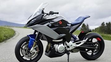 BMW 9Cento Concept - Xe mô tô công nghệ cao hoàn toàn mới