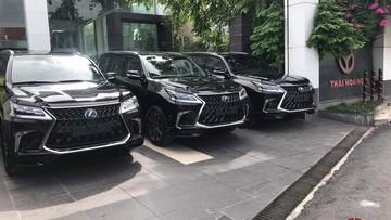 Cơn sốt Lexus LX570 Super Sport 2018 giá 10 tỷ Đồng đổ bộ thị trường Việt Nam