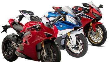 Ducati, BMW, Kawasaki, KTM và Honda: Cuộc chiến về giá ở dòng xe phân khối lớn