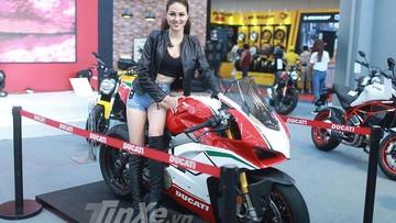 Ducati gây ấn tượng trong lần tái xuất tại triển lãm AutoExpo 2018