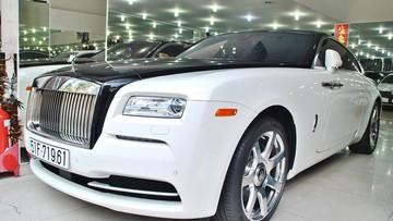 Rolls-Royce Wraith từng của Chủ tịch Trung Nguyên thay đổi phong cách mới