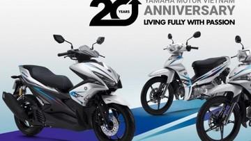 Yamaha ra mắt loạt xe phiên bản kỷ niệm 20 năm tại Việt Nam
