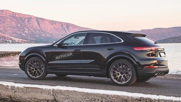 """Porsche Cayenne Coupe được """"bật đèn xanh"""", BMW X6 và Audi Q8 hãy coi chừng!"""