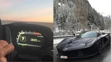 Đem siêu phẩm triệu USD Ferrari LaFerrari đến Autobahn chỉ để tăng tốc lên 300 km/h