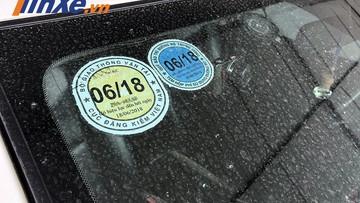 Quên đăng kiểm xe ô tô bị phạt bao nhiêu?