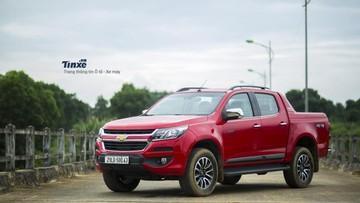 """Ford Ranger chưa thể về Việt Nam, Chevrolet Colorado """"lên ngôi"""" trong phân khúc xe bán tải"""