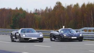 """Koenigsegg Agera R """"dạy""""cho Porsche 918 Spyder biết tăng tốc từ 0-300 km/h là như thế nào"""