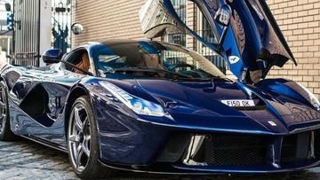 Tay trống của Pink Floyd gây chú ý với siêu xe triệu đô Ferrari LaFerrari