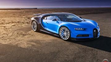 Siêu xe triệu đô Bugatti Chiron đầu tiên trên thế giới được độ mâm