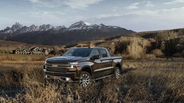 Xe bán tải cỡ lớn Chevrolet Silverado 2019 được chốt giá từ 30.000 USD