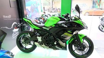 Giá xe Kawasaki Ninja 650 2018 tháng 7/2018