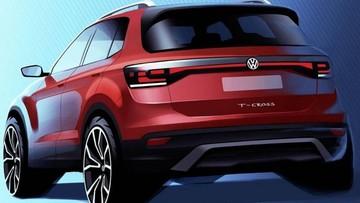 Volkswagen T-Cross 2019 - Mẫu crossover tí hon được úp mở lần đầu tiên