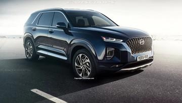 """""""Tất tần tật"""" những gì đã biết về Hyundai Palisade 2020 - crossover 8 chỗ của xứ củ sâm"""
