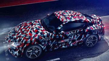 Toyota Supra 2019 sẽ chính thức trình làng vào tuần sau