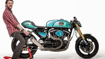 Màn lột xác ngoạn mục của Harley Davidson Sportster 883