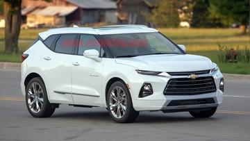 Crossover cỡ trung Chevrolet Blazer 2019 lần đầu tiên bị bắt gặp trên đường phố