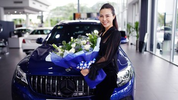 Á hậu Trà Giang tậu Mercedes-Benz GLC 200 hơn 1,6 tỷ Đồng