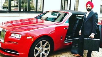 """""""Bill Gates của Anh quốc"""" tậu 7 chiếc Rolls-Royce sơn màu """"ton sur ton"""" với khăn quấn Turban"""