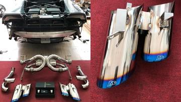 """Siêu xe Lamborghini Huracan LP610-4 tại Bạc Liêu được chủ nhân thay """"khẩu pháo"""" của FI"""