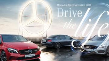 Chiều nay, Mercedes-Benz Fascination 2018 chính thức khai mạc
