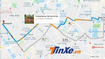 Google Maps chính thức hỗ trợ cảnh báo tắc đường tại Việt Nam