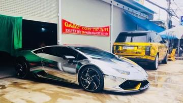 """""""Loá mắt"""" với bộ áo của siêu xe Lamborghini Huracan LP610-4 tại Bạc Liêu"""